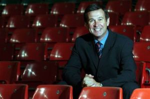 A smiling Roger Lewis, CEO of the Welsh Rugby Union